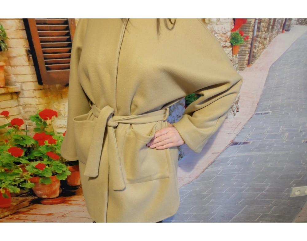 Kabátik na viazanie